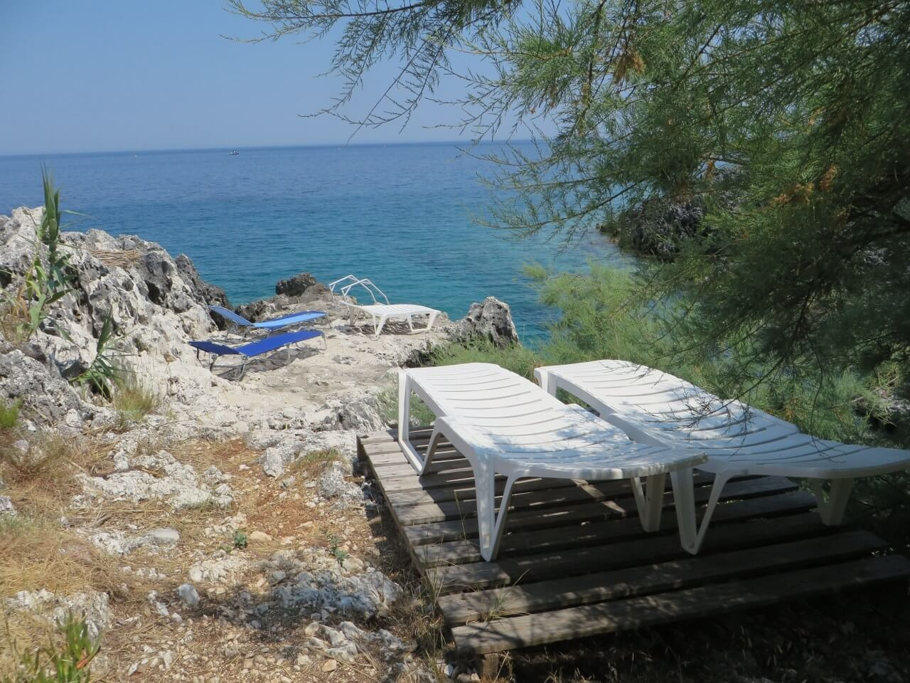 Our private cove - Crique privie