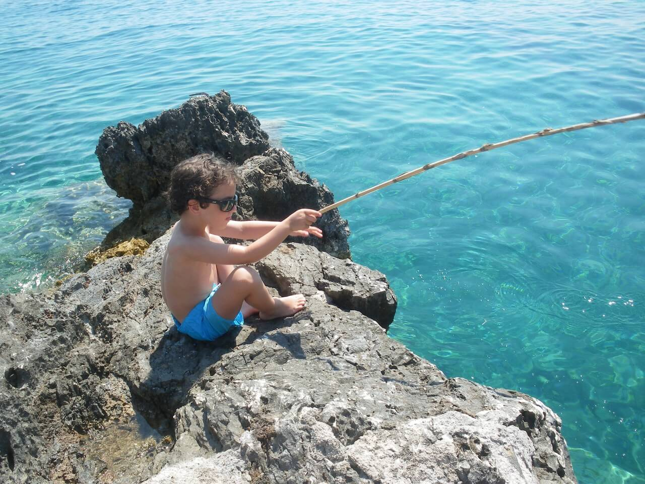 Fishing - Peche a la Crique